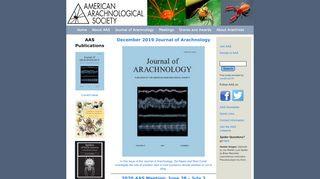 American Arachnological Society