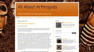 All About Arthropods