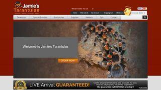 Jamie's Tarantulas