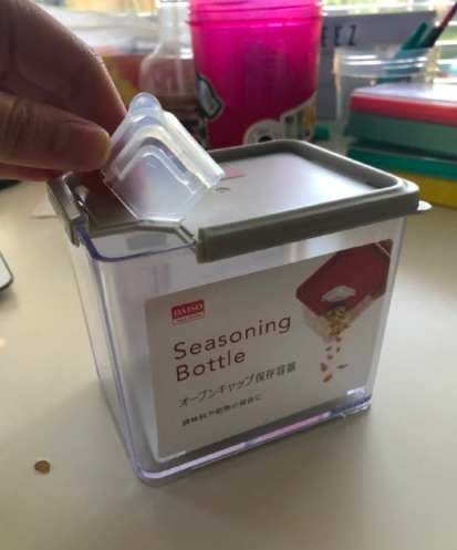Seasoning Bottle from Daiso